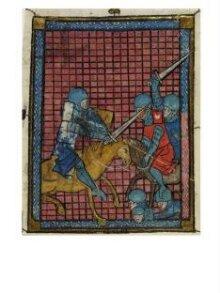Miniature from the Romance of Pelyarmenus thumbnail 1