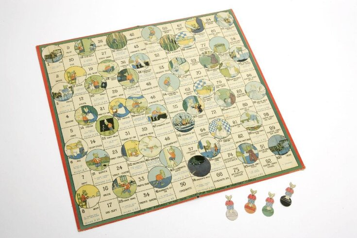 The Day's Doings of a Little Mouse, An Amusing Game for Learning French top image