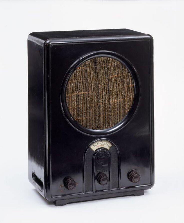 Volksempfänger radio, model VE 301w top image