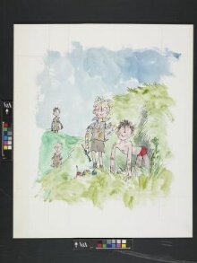 Illustration for the cover of 'Typically Jennings' thumbnail 1