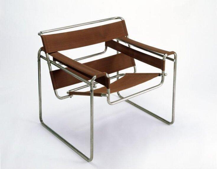 Club chair, model B3 top image