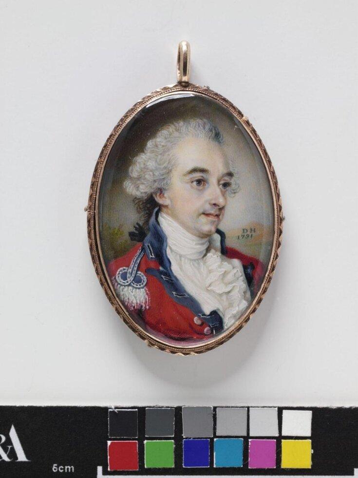 Portrait miniature of Lieutenant Thomas Harriott top image
