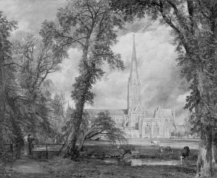 Salisbury Cathedral from the Bishop's Ground top image