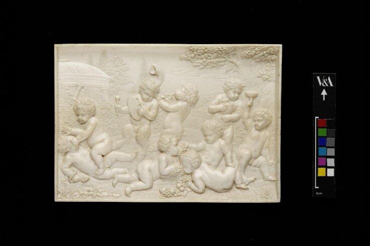 Bacchanalian Infants Playing Music top image