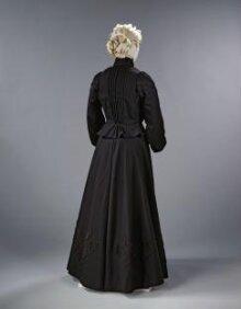 Mourning Dress Ensemble thumbnail 1