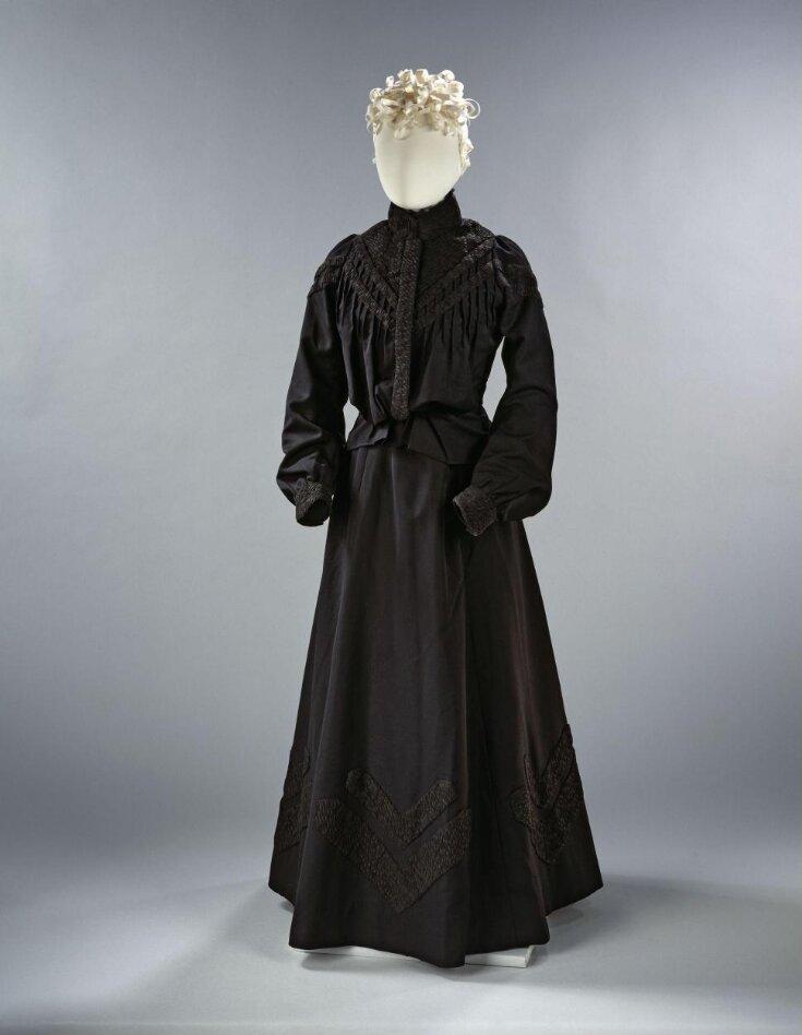 Mourning Dress Ensemble top image