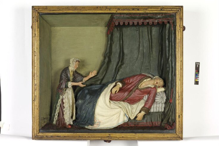 The Death of Voltaire top image