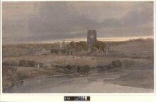 Kirkstall Abbey, Yorkshire: Evening thumbnail 1