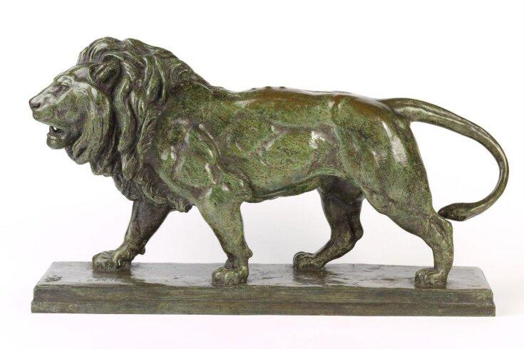 Walking lion top image
