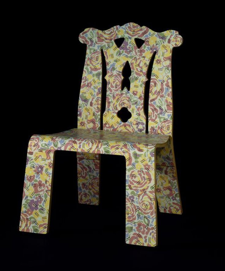Chippendale Chair with Grandmother pattern top image