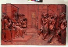 Pilate washing his hands and Christ led from judgement thumbnail 1