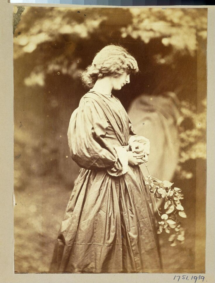 Jane Morris, posed by Rossetti top image