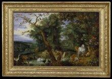 The Temptation in the Garden of Eden thumbnail 1