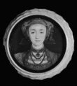Portrait miniature of Anne of Cleves (1515-1557), set in a turned ivory box thumbnail 2
