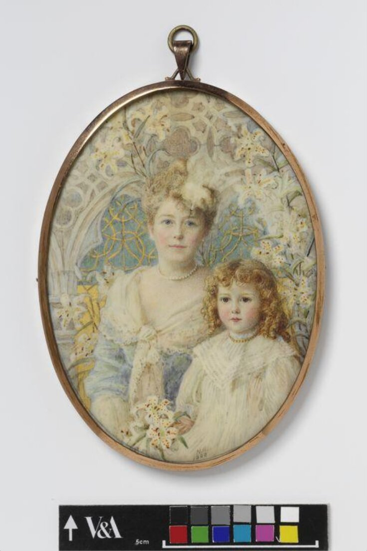 An Unknown woman and her daughter top image