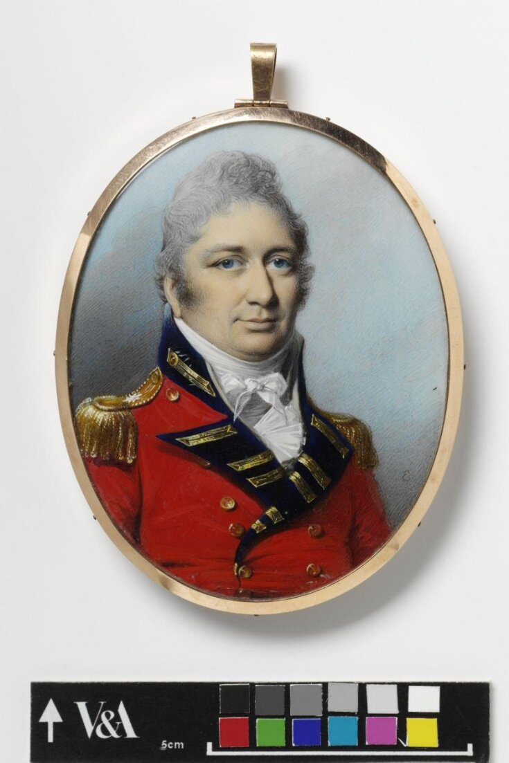 Portrait of Colonel Cuppage top image