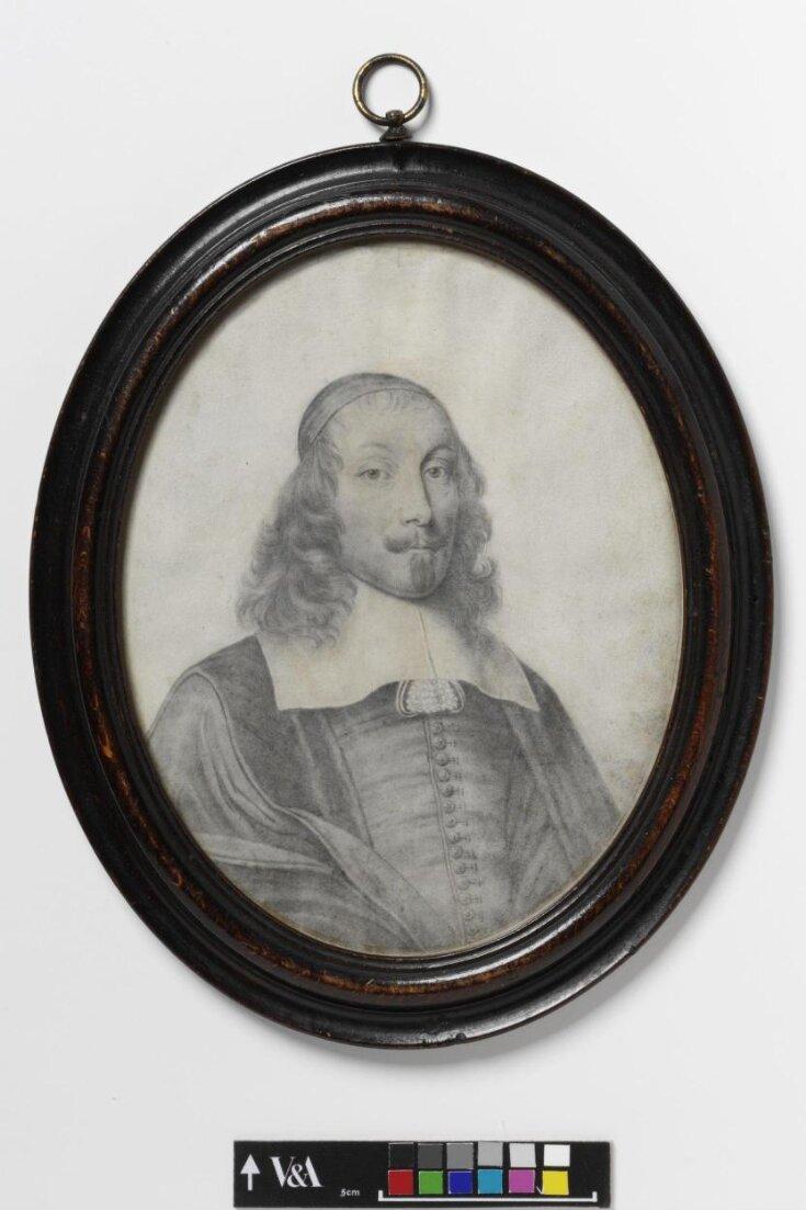 Plumbago miniature of Cardinal Mazarin top image