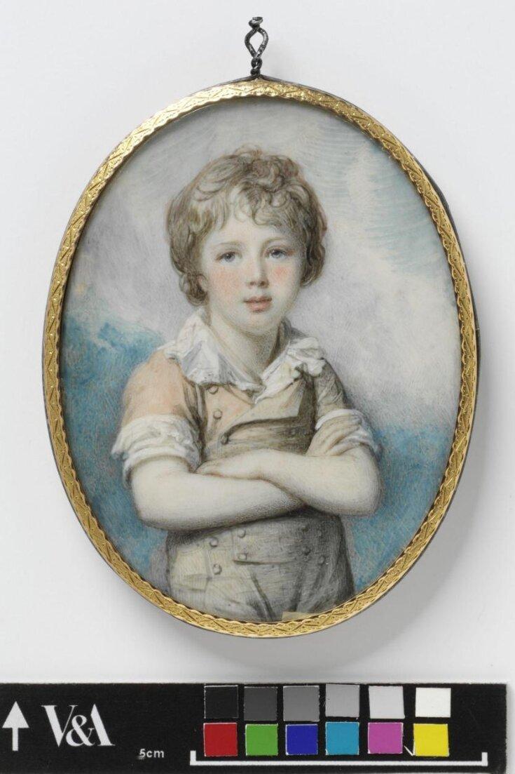 Unknown boy, perhaps Sir Frederick Augustus D'Este (1794-1848) top image