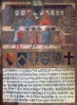 Tavoletta di Biccherna: The Camarlingo Niccolò di Leonardo della Gazaia, His Scrivener and Three taxpayers thumbnail 2