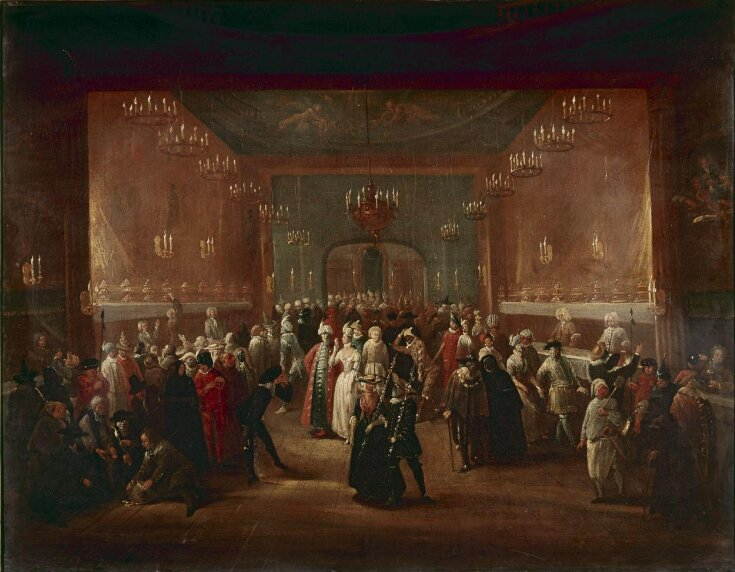 A Masquerade at the King's Theatre, Haymarket top image