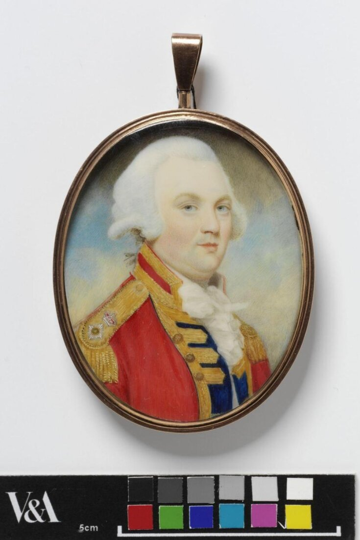 Portrait of a colonel of the 3rd Foot Guards top image