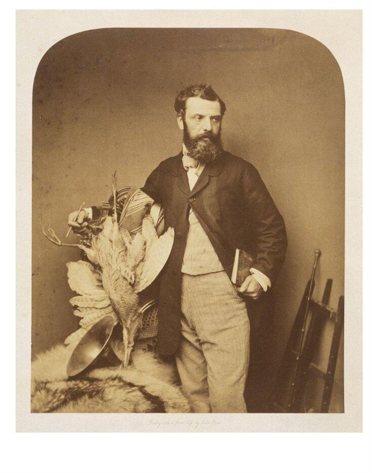 Portrait of Richard Ansdell, painter top image