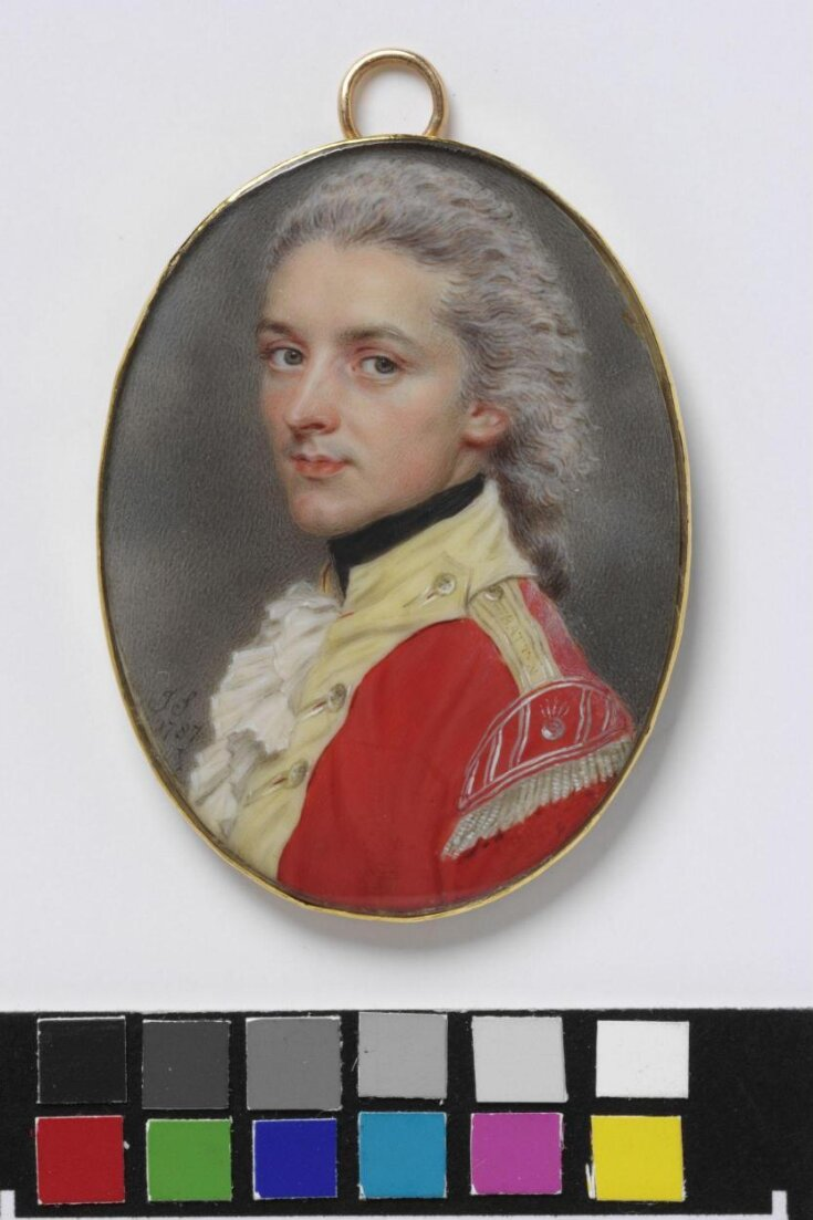 Portrait of Captain W. S. Dawe of the Indian Infantry top image
