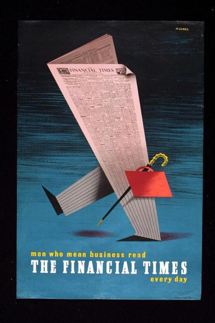 Men who mean business read The Financial Times every day top image