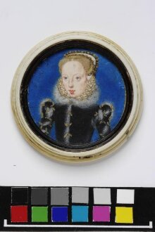 Portrait miniature of Katherine Grey, Countess of Herford thumbnail 1