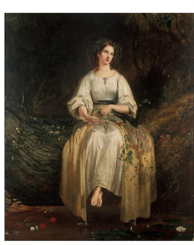 Ophelia Weaving Her Garlands top image