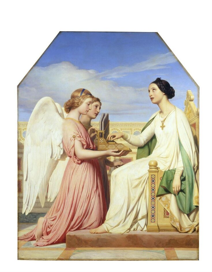 St Cecilia and the Angels top image
