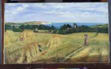 View across Sandown Bay, Isle of Wight thumbnail 1