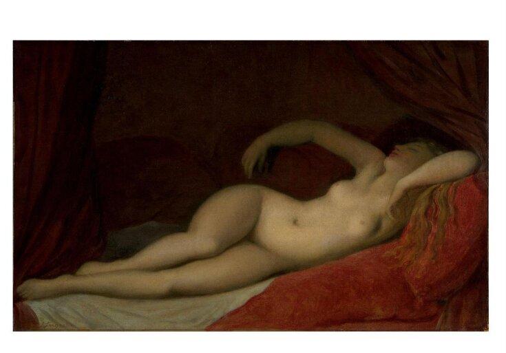 A Sleeping Odalisque top image