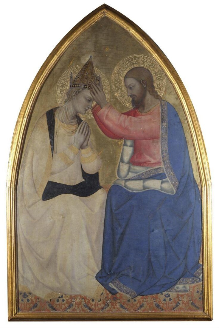 The Coronation of the Virgin top image