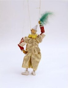 Marionette of a clown thumbnail 1