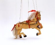 Marionette of a circus horse thumbnail 1