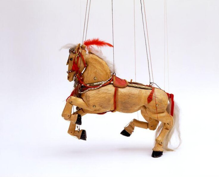 Marionette of a circus horse top image