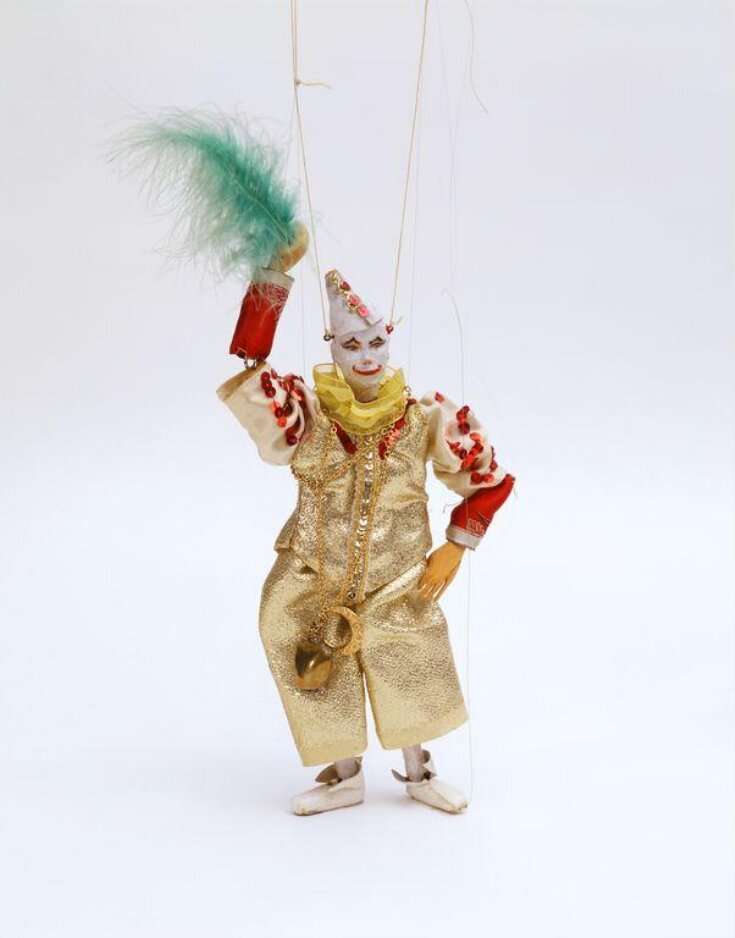 Marionette of a clown top image