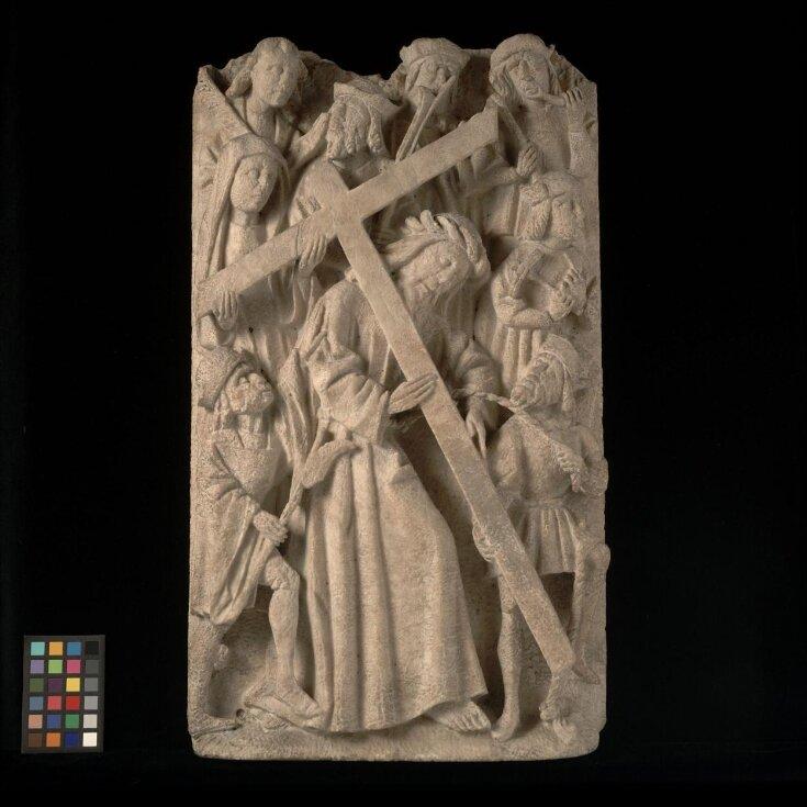 Christ bearing the Cross top image