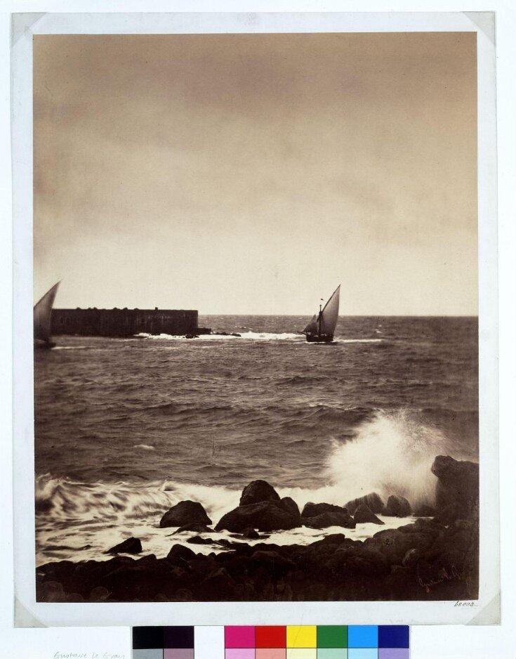 The Breaking Wave - Mediterranean Sea top image