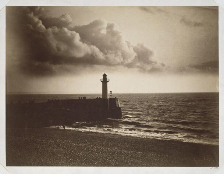 Lighthouse and Jetty, Le Havre top image