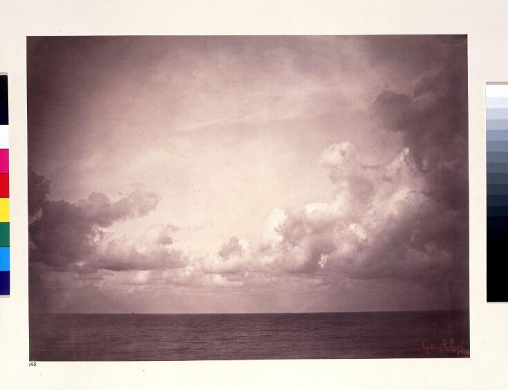 Seascape with Cloud Study top image