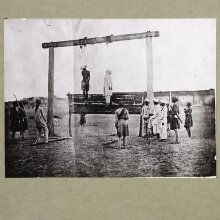 Execution of two Indian mutineers thumbnail 1