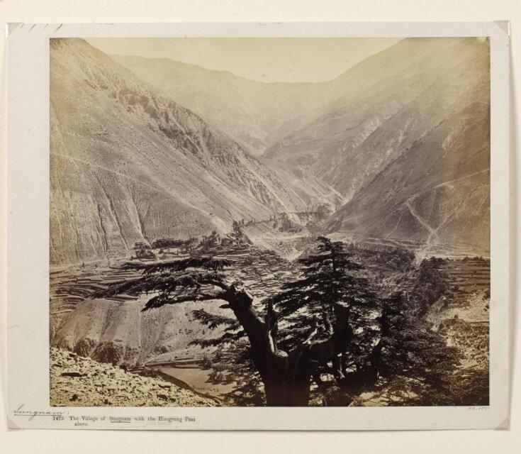 Village of Sungnam, Hungrung Pass, India top image