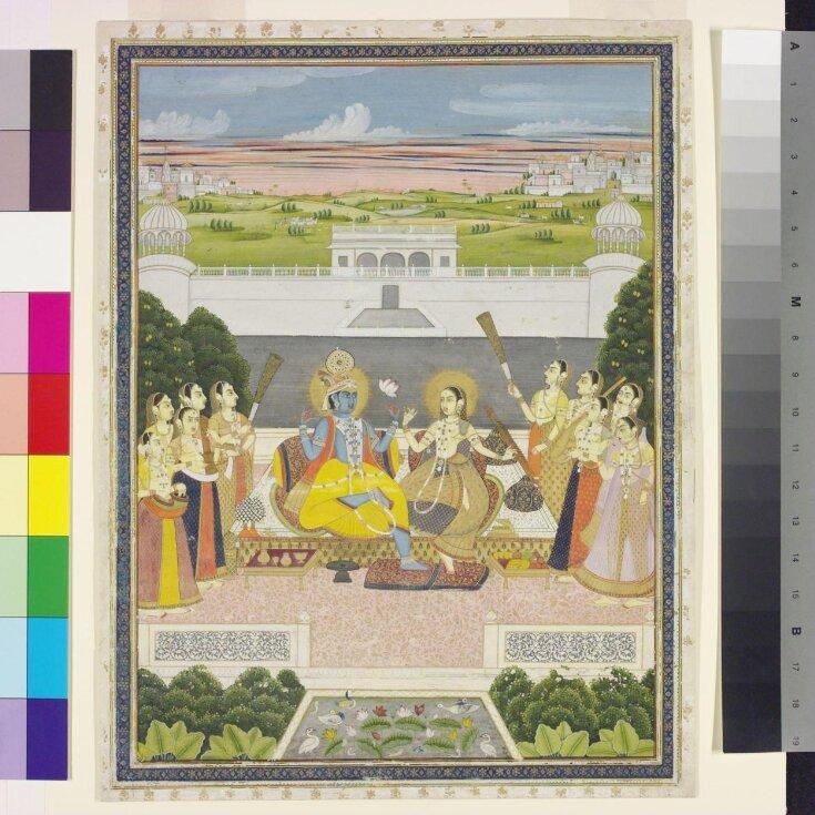 Radha and Krishna  top image
