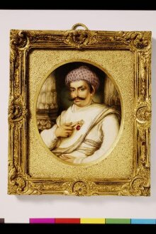 Portrait of Hyder Beg Khan, the Minister to the Nawab of A Wadh, Asaf-Au-Daula thumbnail 1