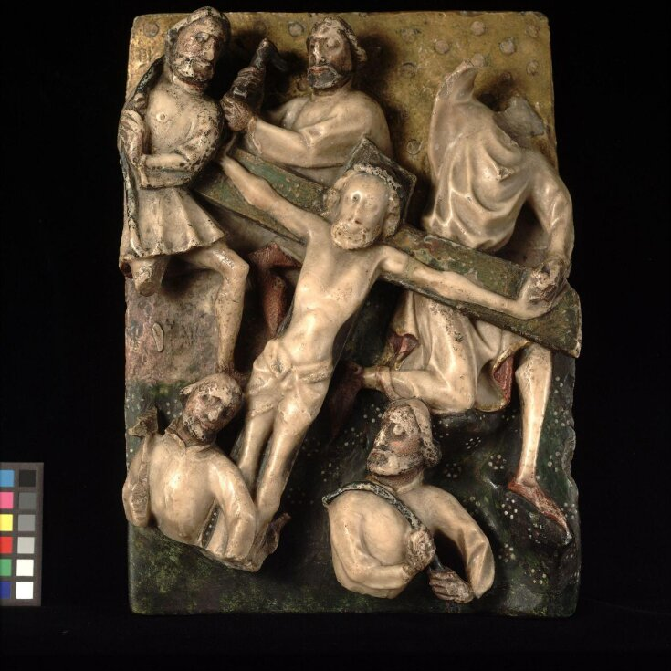 Christ nailed to the Cross top image