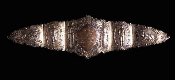 Prize belt awarded to Dan Leno top image