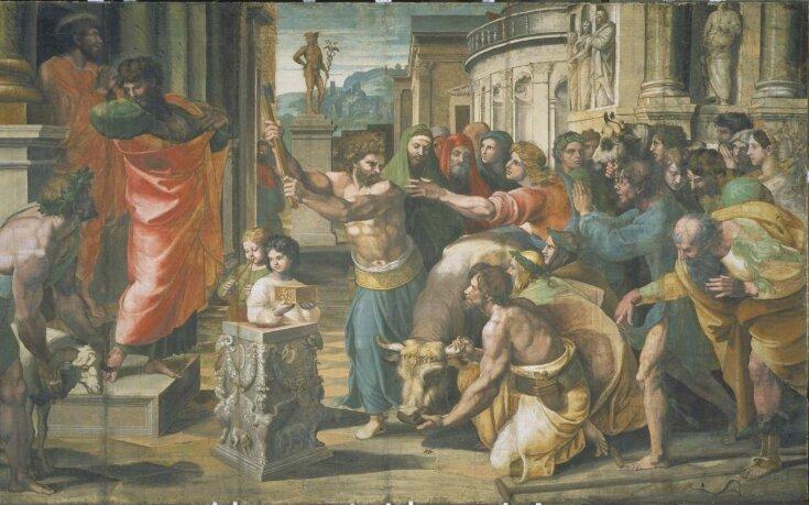 The Sacrifice at Lystra (Act 14: 8-18) top image