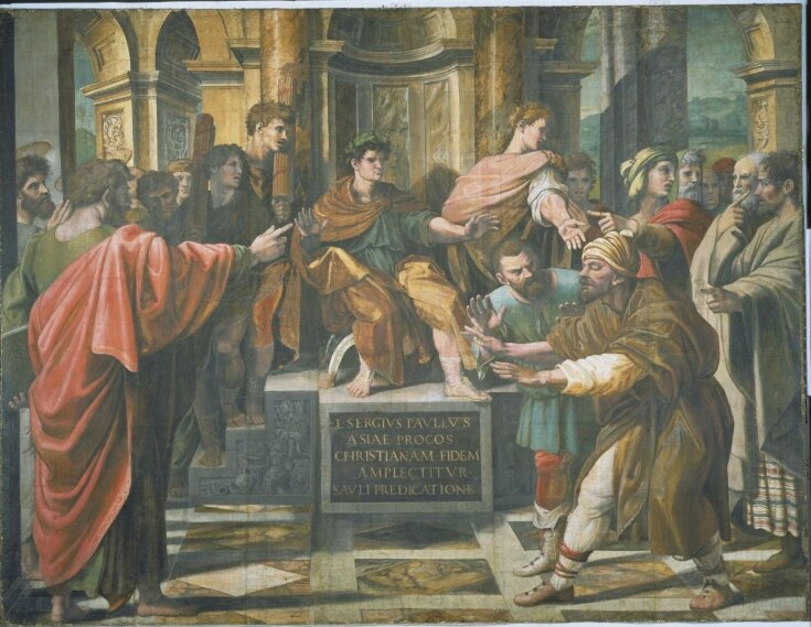 The Conversion of the Proconsul (Acts 13: 6-12) top image